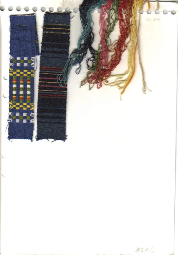 Aspås sockendräkt kjol förkläde tygprov
