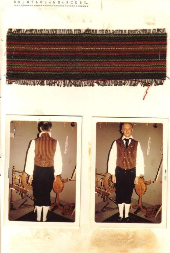 Brunflo sockendräkt foto mansdräkt