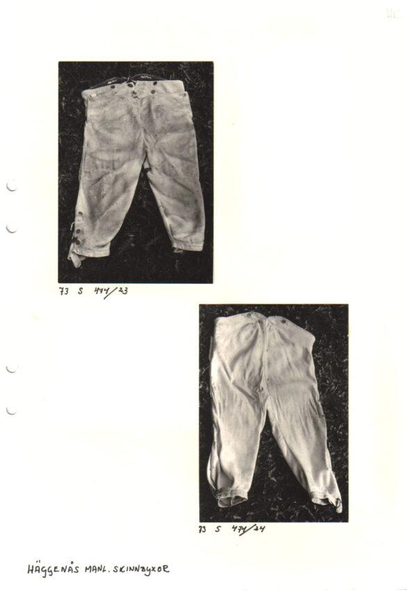 Häggenås sockendräkt foto mansdräkt byxor