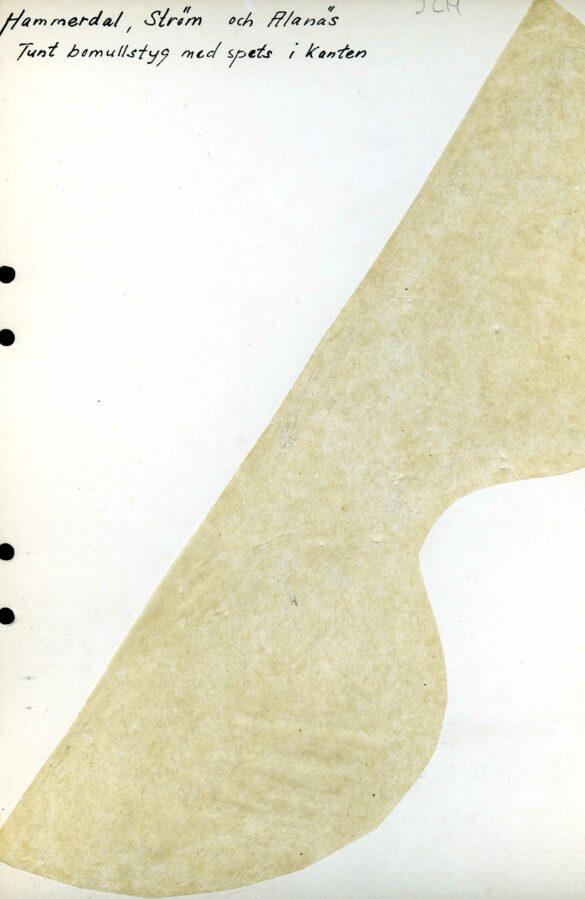 Hammerdals sockendräkt mössa mönster