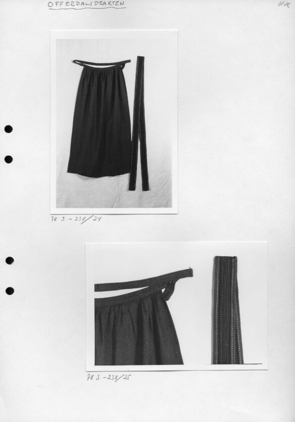 Offerdals sockendräkt förkläde foto