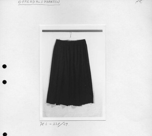 Offerdals sockendräkt kjol foto