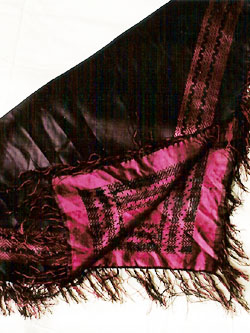 Åredräkten sjal