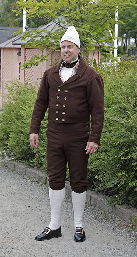 Sunne sockendräkt mansdräkt, på bild Örjan Bertilsson